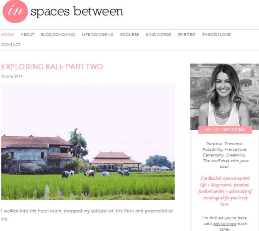 Inspacesbetween